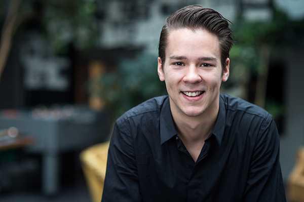 Lorentz Tovatt, språkrör Grön ungdom.