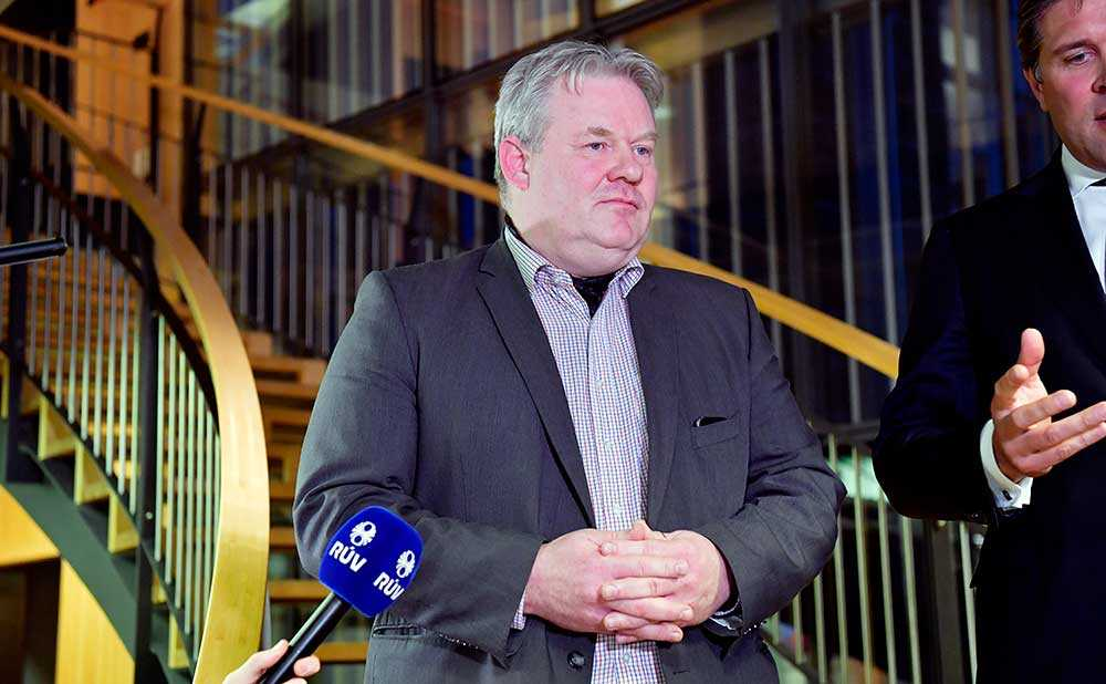 Sigurður Ingi Jóhannsson ny statsminister på Island.