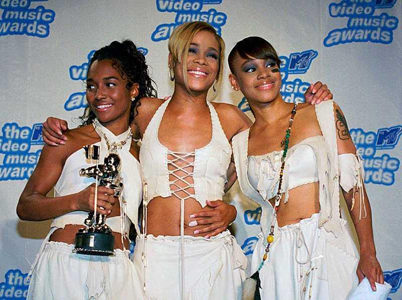 "Rozanda ""Chilli"" Thomas, Tionne ""T-Boz"" Watkins and Lisa ""Left Eye"" Lopes i TLC."