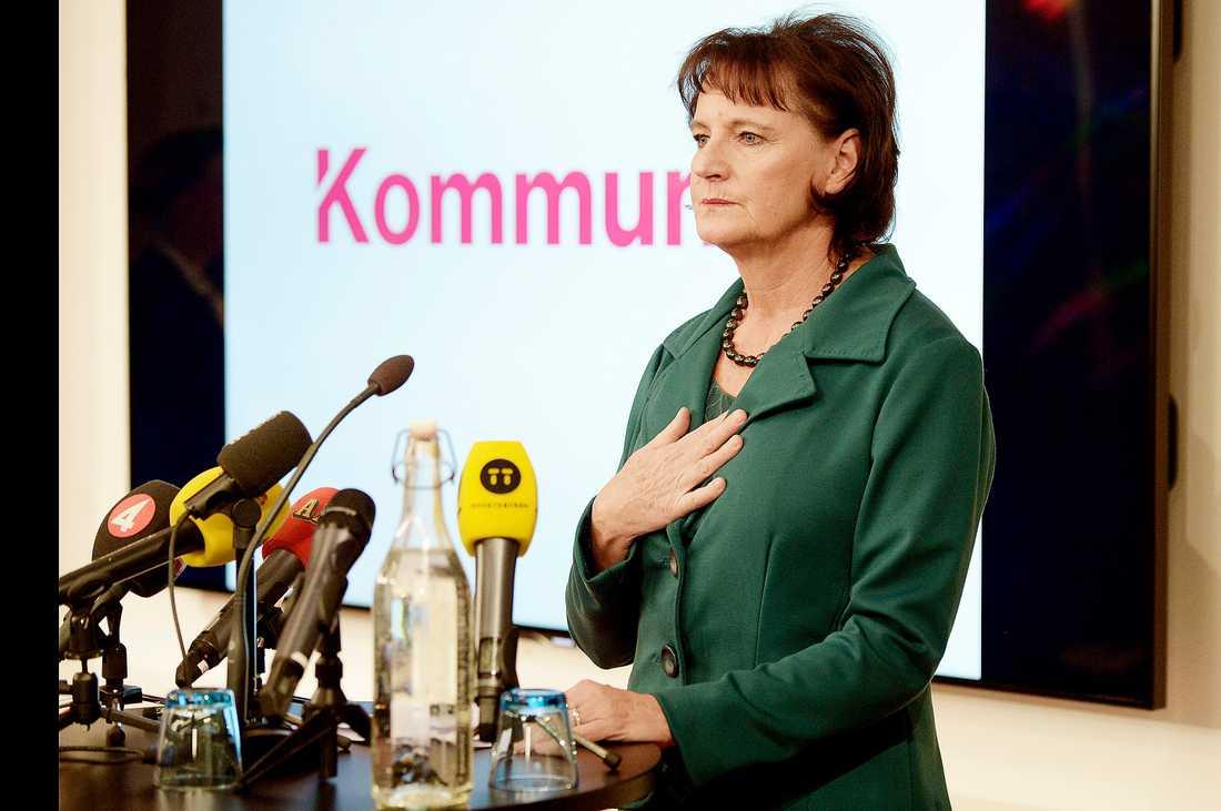 Ett sista slag.  Kommunals kongress blir början till slutet för Annelie Nordström, som varit ordförande under sex år.