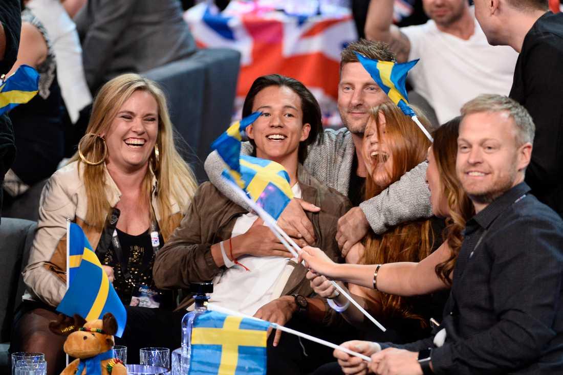 Frans var Sveriges bidrag.