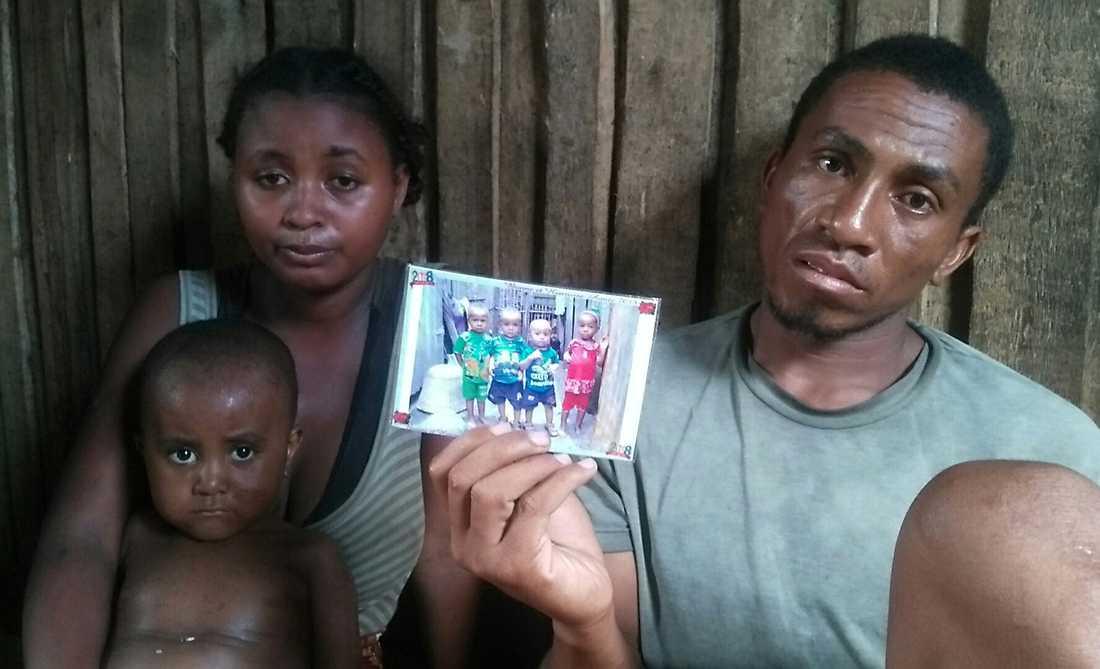 Fiskaren Dadas fyraårige som Limberaza och dennes två små kusiner dog i mässlingen för att de inte kunnat få vaccin.