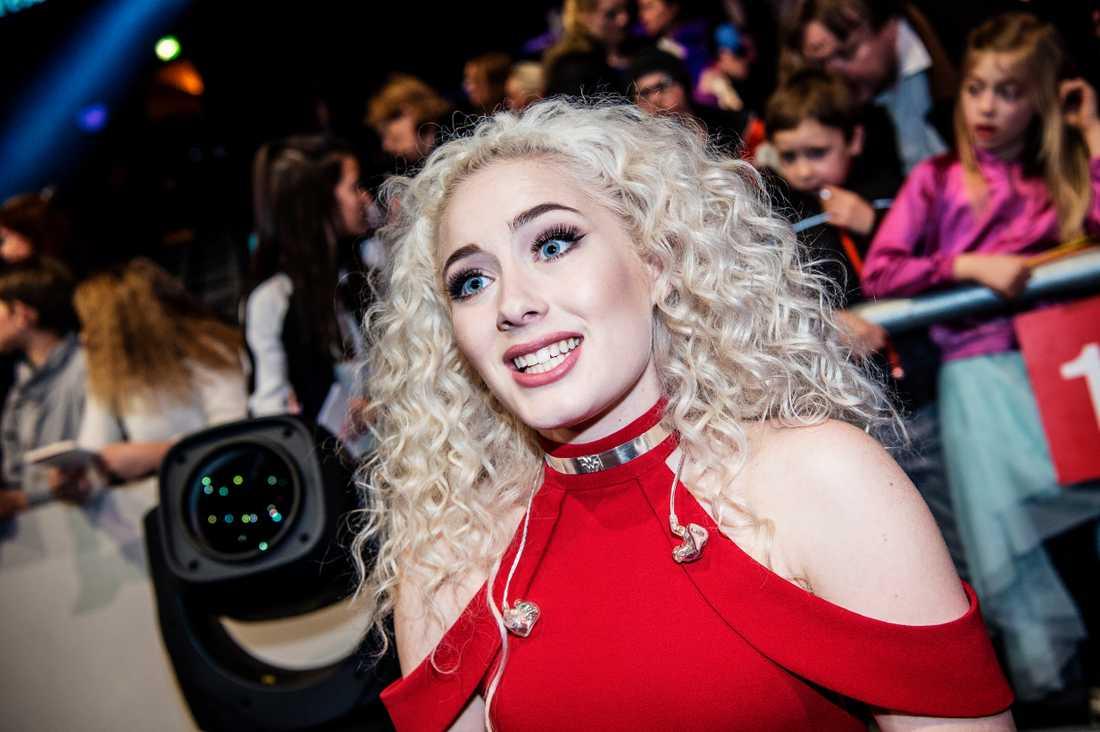 Wiktoria i Melodifestivalen 2017.