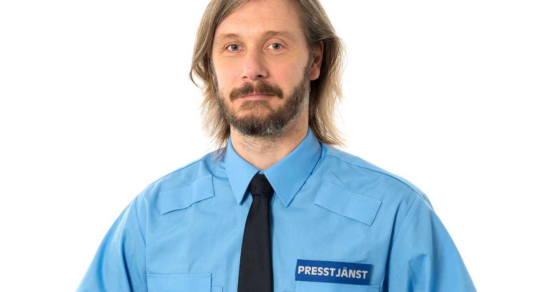 Daniel Wikdahl, presstalesperson i region Mitt.