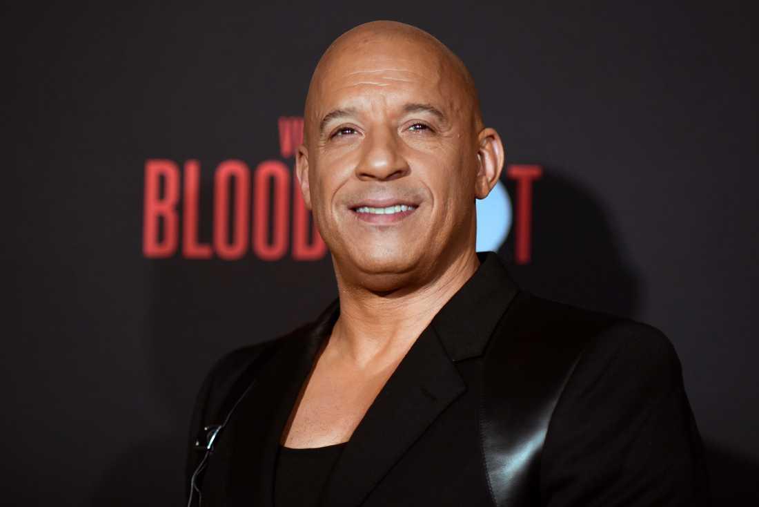 Vin Diesel. Arkivbild.