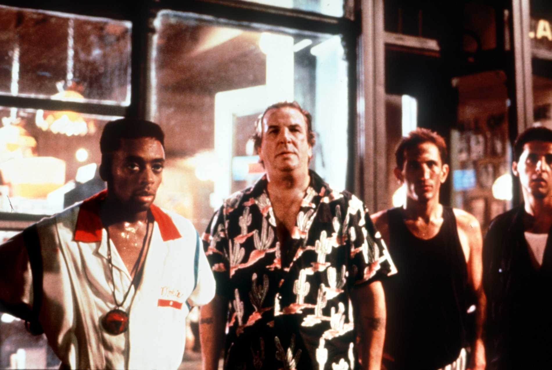 """Spike Lee och Danny Aiello i """"Do the right thing""""."""