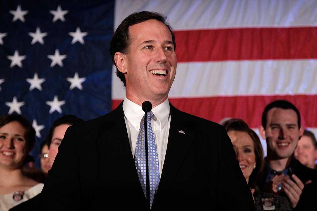 Rick Santorum hoppar av kampen om att bli USA:s president.