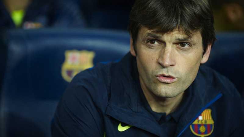 Tito Vilanova tar över som tränare för Barcelona. Foto: Getty