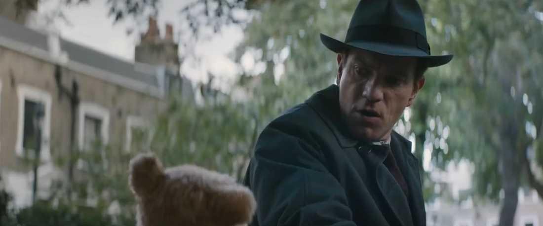 Ewan McGregor spelar en vuxen Christoffer Robin.