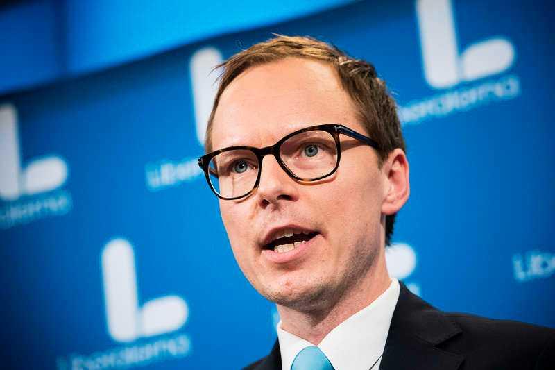 Mats Persson, Liberalernas ekonomisk-politiska talesperson.