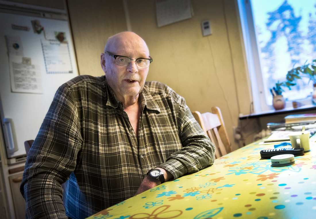 Assar Hägg, 75, blev vittne till mordet.