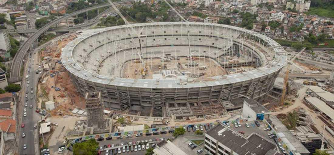 SALVADOR Arena fonte nova (Kapacitet: 56 500)