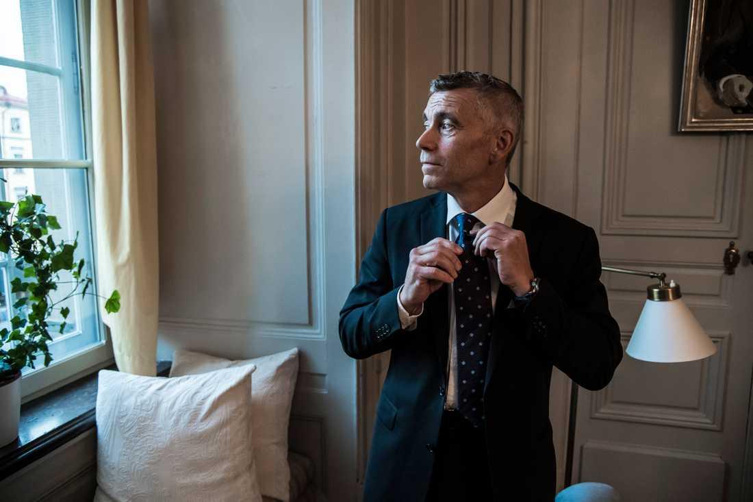 Juristen Eric Runesson, nyinvald ledamot i Svenska Akademien.