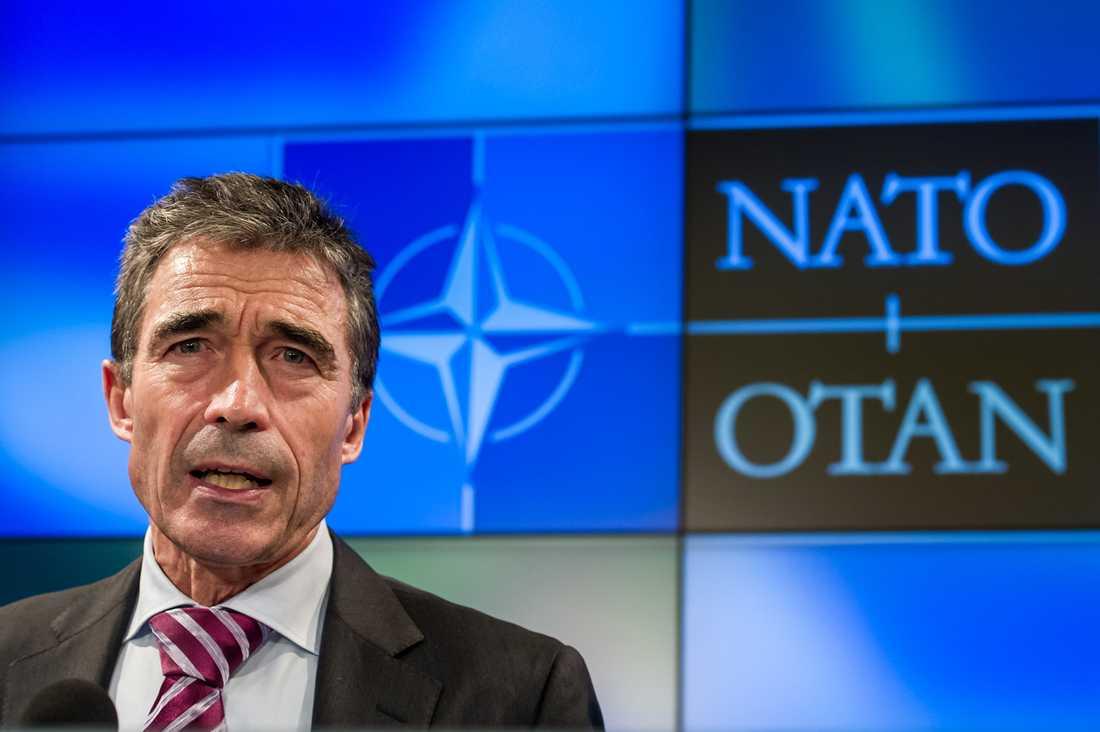 Natos generalsekreterare Anders Fogh Ramsmussen.