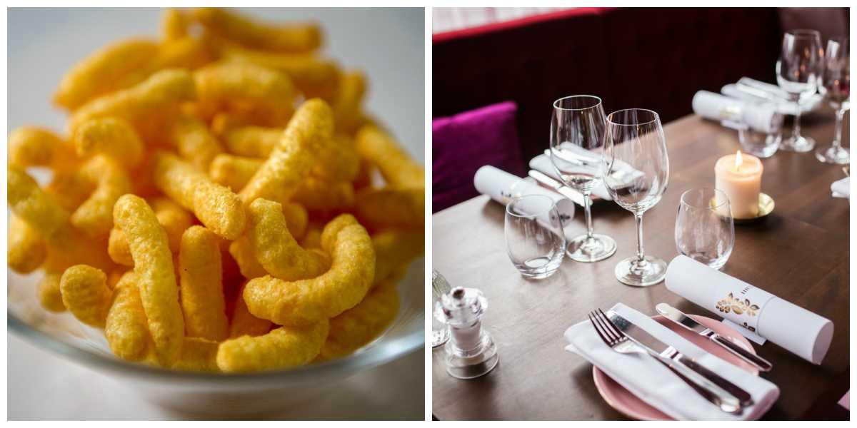 Fotona är exempelbilder och föreställer inte maten på restaurangen.