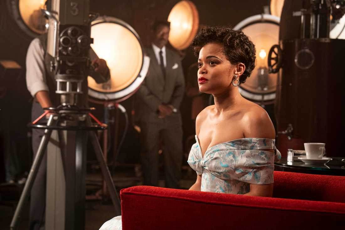 "Andra Day är Oscarsnominerad för sin roll som Billie Holiday i ""The United States vs Billie Holiday"". Pressbild."