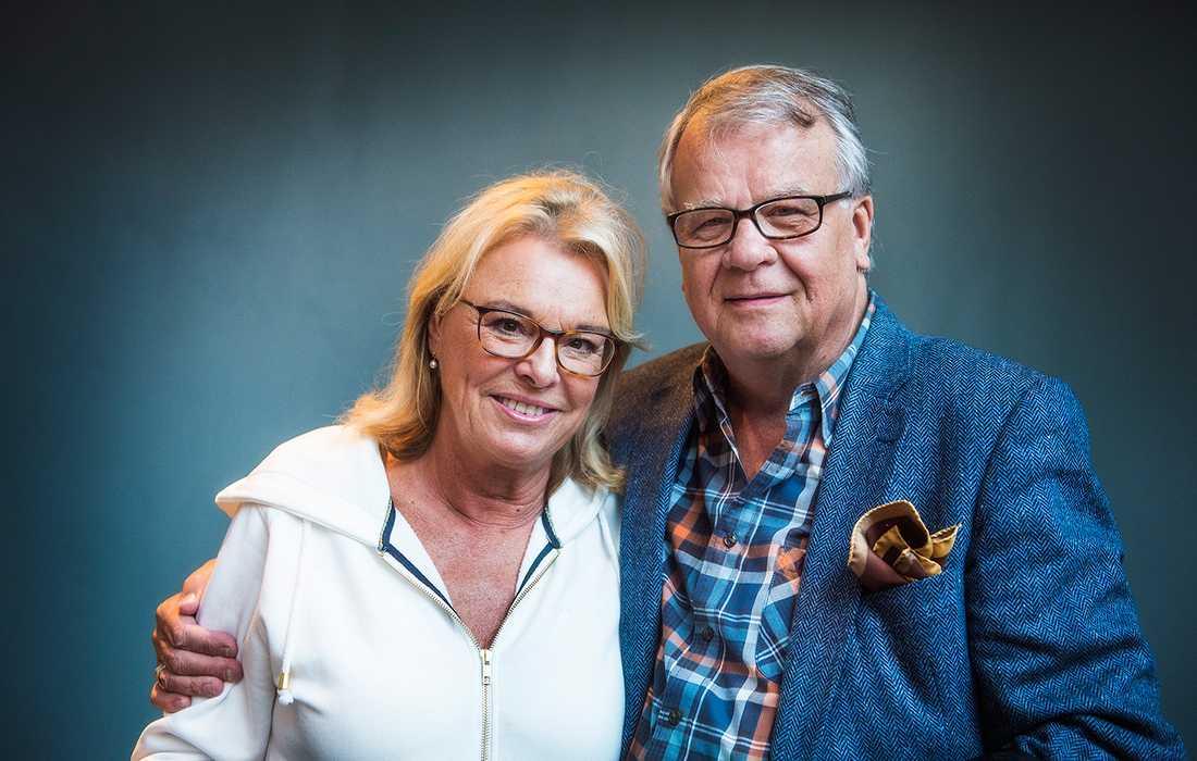 Birgitta Härenstam och Lasse Berghagen.