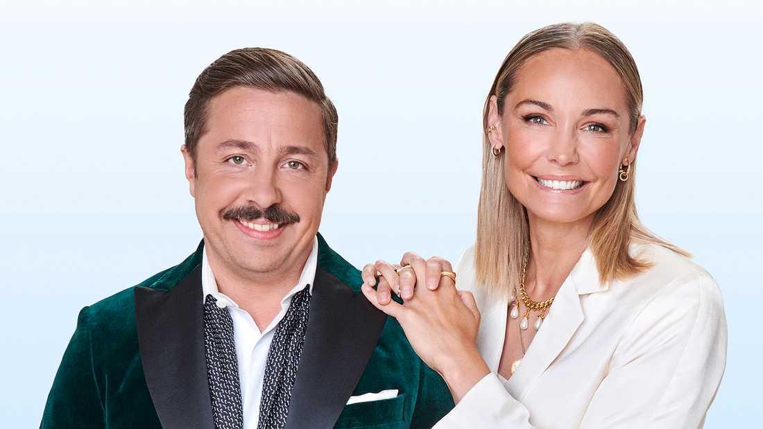 David Sundin och Carina Berg.