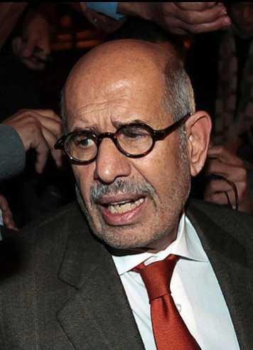 ElBaradei.