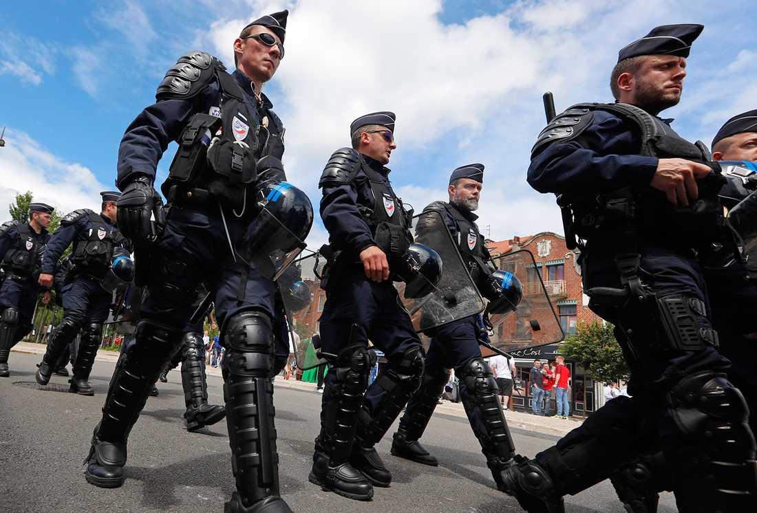 Fransk polis.