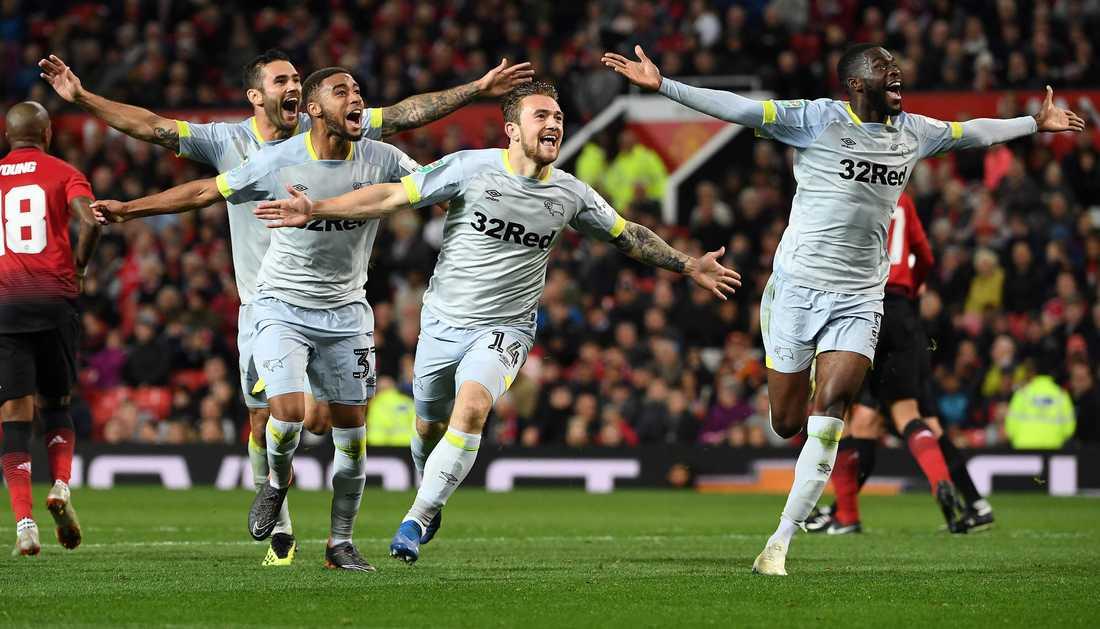 Derby County kunde fira vilt.