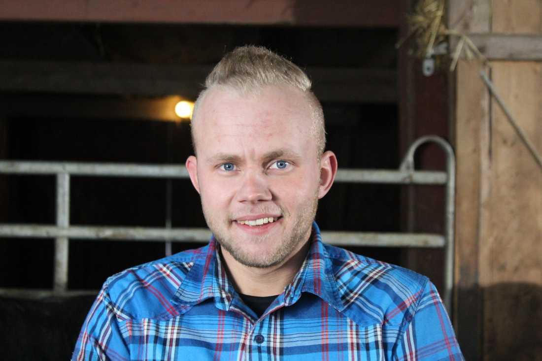 André, 24, från Strömsnäsbruk.