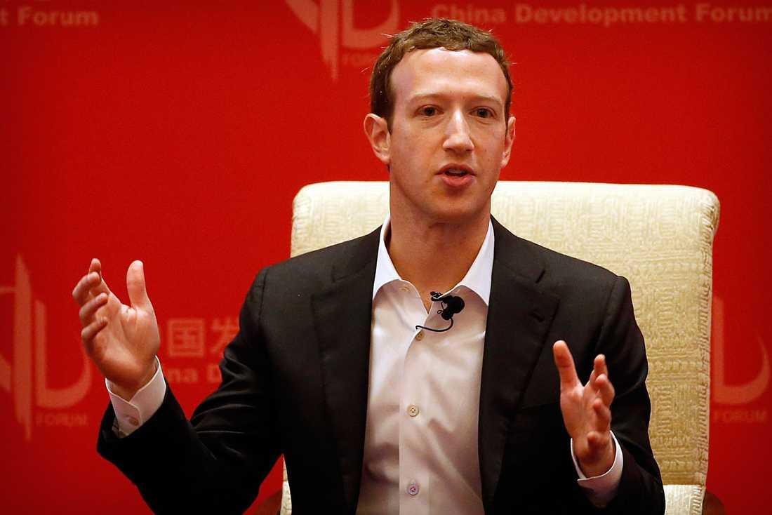 Facebookgrundaren Mark Zuckerberg.