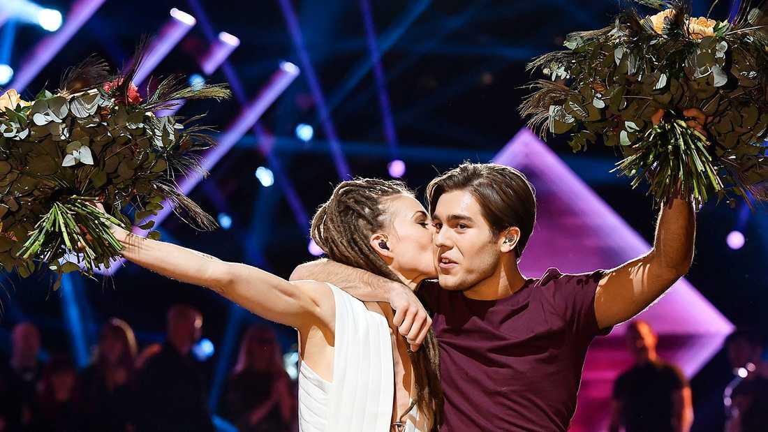 Mariette och Benjamin Ingrosso gick till final från deltävling 2.