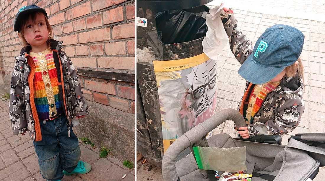 I våras hyllades Mika som miljöhjälte när han städade gatorna i Norrköping, något som Aftonbladet skrev om.