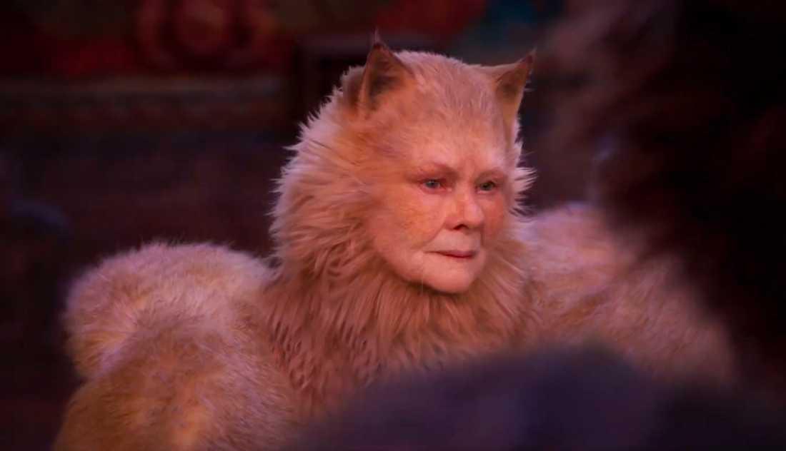 """Judi Dench i """"Cats""""."""