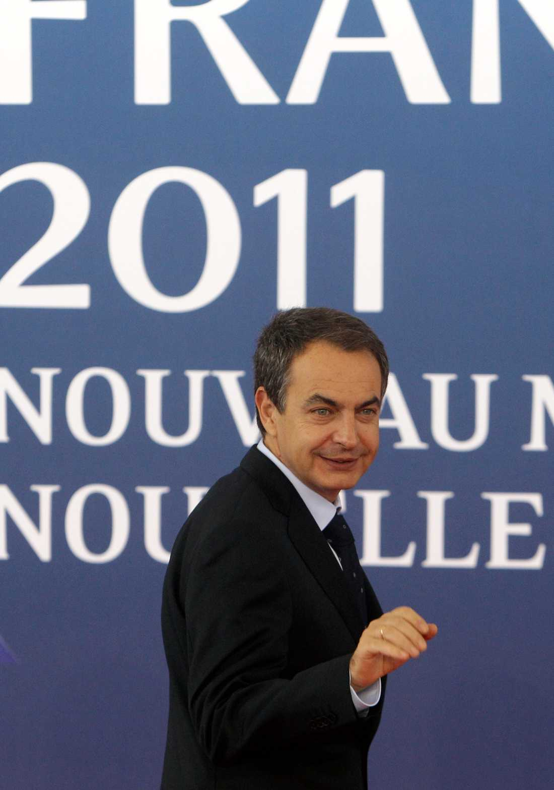 ... och det gör också spanska premiärministern Jose Luis Rodriguez Zapatero, om än lite försiktigare.