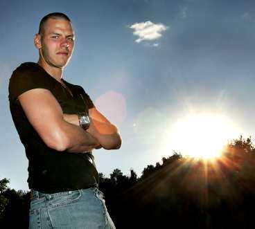 SERIENS BÄSTE Daniel Örlund rankas av Sportbladet som superettans tredje bäste spelare - och den bäste målvakten. Han har gett AIK stabilitet i jakten på allsvenskan.