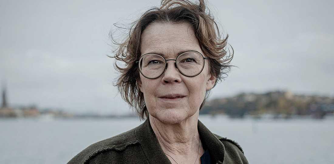 """Tove Alsterdal, aktuell med boken """"Rotvälta"""". Den har nominerats till priset som Årets bästa svenska deckare."""