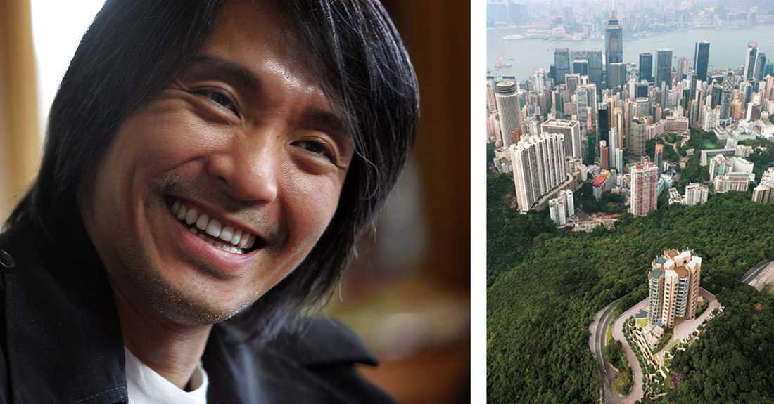 Stephen Chow bor på världens dyraste gata, Pollocks Path.