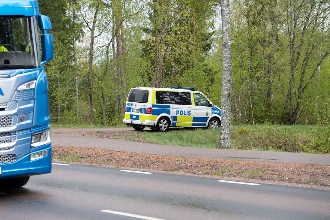 Kvinnan överfölls och misshandlades av en okänd man på Hammarö på måndagsmorgonen.