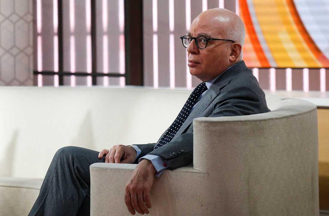 Författaren Michael Wolff.