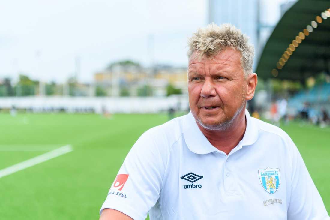 Göteborgs tränare Jörgen Ericsson