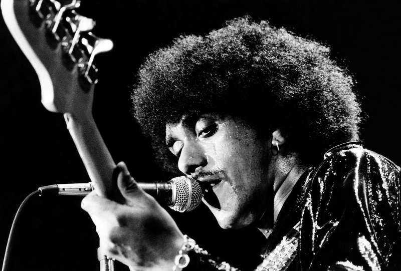 "Phil Lynott i Thin Lizzy. Albumet ""Black rose"" återutges på Record Store Day."