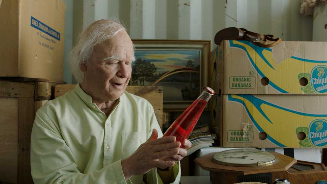 Robert Gustafsson som 101-åringen.