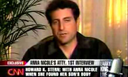 """Anna Nicole Smiths advokat, Howard K. Stern, bjöd tittarna på en rejäl överraskning när han intervjuades i """"Larry King Live"""" i natt."""