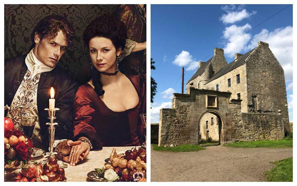 I och runt Edinburgh finns en mängd inspelningsplatser från Outlander.