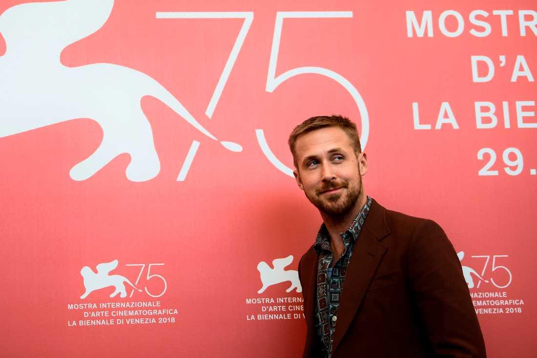 Ryan Gosling på Venedigs filmfestival.