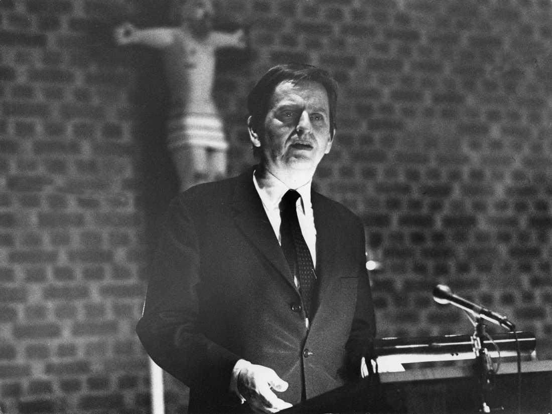 Regeringen vill inte att Olof Palmes mord ska preskiberas.