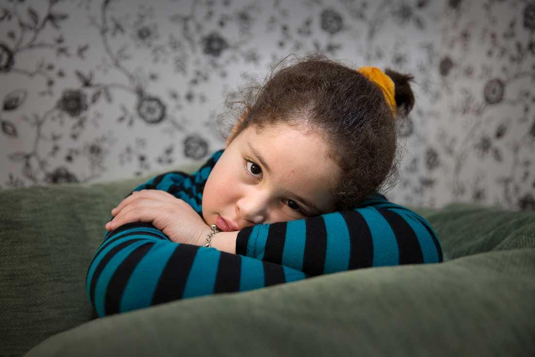 Marwa, 9 år.