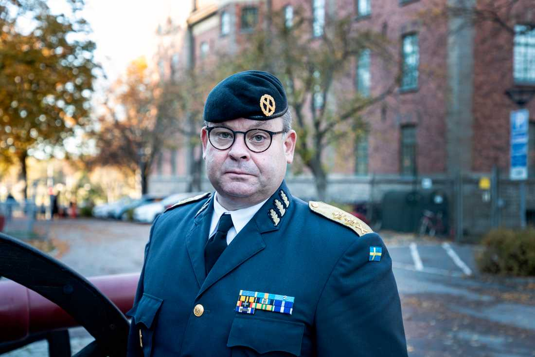 Den svenske generalmajoren Michael Claesson.