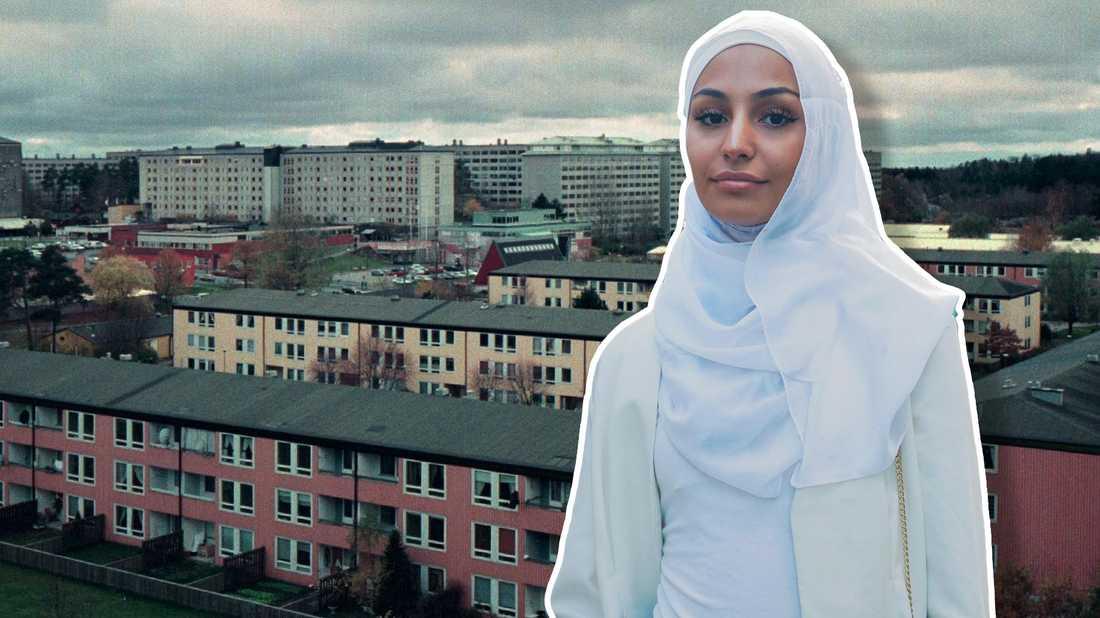 Nivin Khalil skriver om otryggheten utanför orten