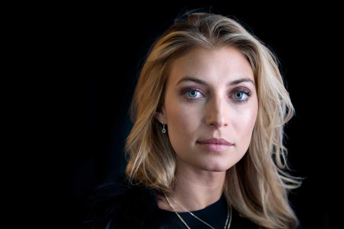 """Cecilia Forss spelar en av huvudrollerna i den kommande serien """"Playa del sol"""". Arkivbild."""