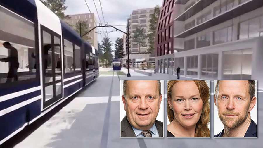 Moderaterna vill utforma en modern och klimatsmart infrastrukturpolitik som gynnar jobb, miljö och tillväxt. Detta kan bara ske om vi säger nej till det oflexibla mångmiljardprojektet spårväg i Uppsala, skriver Fredrik Ahlstedt, Therez Almerfors och Markus Lagerquist.