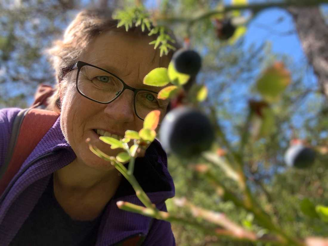 """Anette Rattfelt, etnolog och författare till boken """"Blåbär"""""""