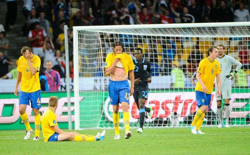 Sverige-England 2-3